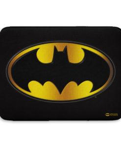 Pochette ordinateur Batman Logo de couleur