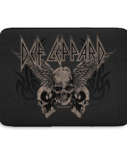 Pochette ordinateur Def Leppard - Flying Skulls de couleur