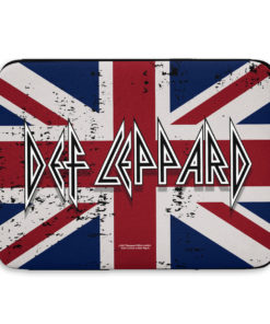 Pochette ordinateur Def Leppard - Union Jack Flag de couleur