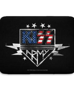Pochette ordinateur Kiss Army de couleur