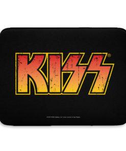 Pochette ordinateur Kiss Logo de couleur