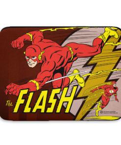 Pochette ordinateur The Flash de couleur