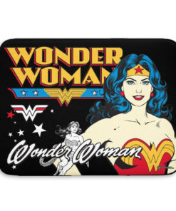 Pochette ordinateur Wonder Woman de couleur
