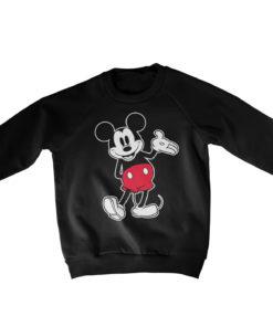 Pull Mickey Mouse Classic s enfant de couleur Noir