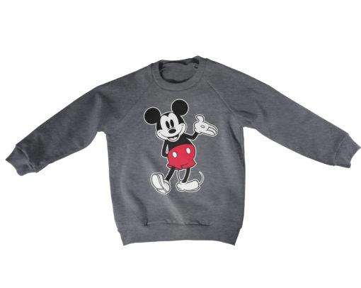 Pull Mickey Mouse Classic s enfant de couleur Gris Foncé