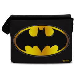 Sac bandoulière Batman Logo de couleur