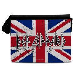 Sac bandoulière Def Leppard - Union Jack Flag de couleur