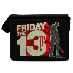 Sac bandoulière Friday The 13th Block Logo de couleur