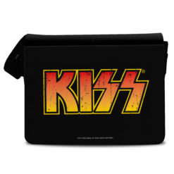 Sac bandoulière Kiss Logo de couleur