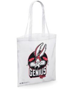 Sac en toile Genius - Wile E. Coyote Tote Bag de couleur