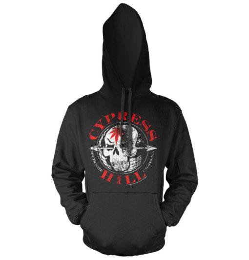 Sweat à capuche Cypress Hill South Gate - California de couleur Noir