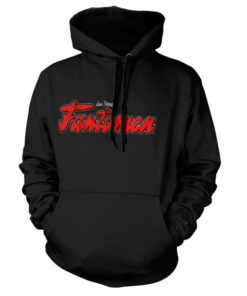 Sweat à capuche Fantomen Logo de couleur Noir