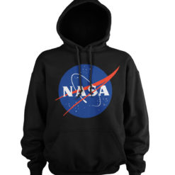 Sweat à capuche NASA Insignia de couleur Noir
