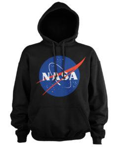 Sweat à capuche NASA Insignia de couleur Noir