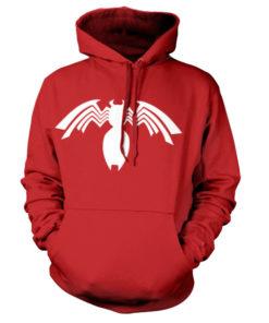 Sweat à capuche Venom Icon de couleur Rouge