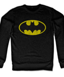 Sweat Batman Logo de couleur Noir