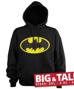 Sweat Batman Signal Logo spécial grande taille de couleur Noir