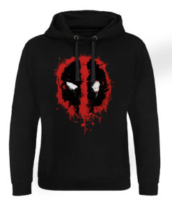 Sweat capuche Deadpool Splash Icon de couleur Noir
