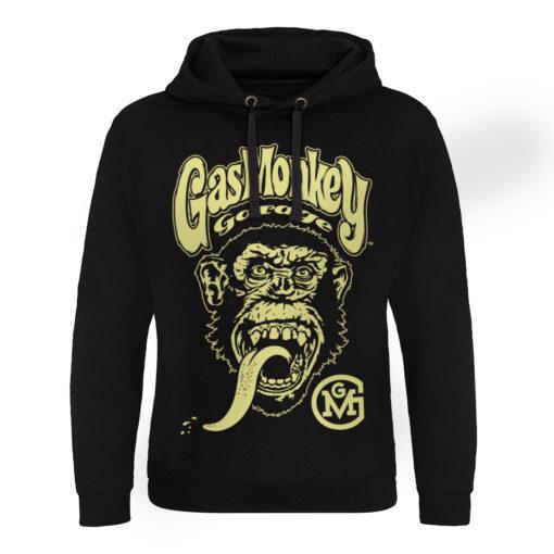 Sweat capuche Gas Monkey Garage Big Brand Logo de couleur Noir