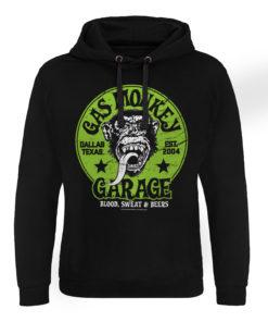 Sweat capuche Gas Monkey Garage - Green Logo de couleur Noir