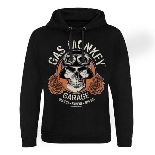 Sweat capuche Gas Monkey Garage Skull de couleur Noir