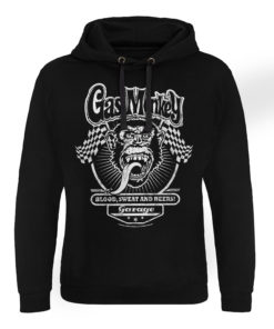 Sweat capuche GMG Flags de couleur Noir