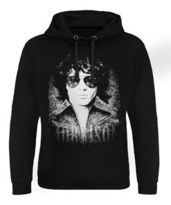 Sweat capuche Jim Morrison - America de couleur Noir