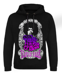 Sweat capuche Jimi Hendrix - Purple Haze World Tour de couleur Noir