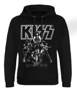 Sweat capuche KISS - Hottest Show On Earth de couleur Noir