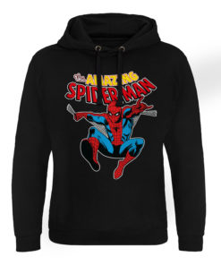 Sweat capuche Marvel Comics - The Amazing Spiderman de couleur Noir