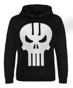 Sweat capuche Marvel Comics - The Punisher Skull de couleur Noir