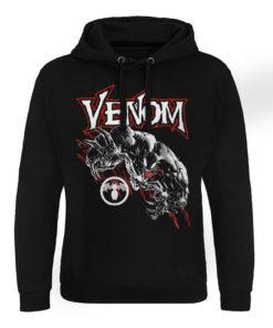 Sweat capuche Marvel Comics - Venom de couleur Noir