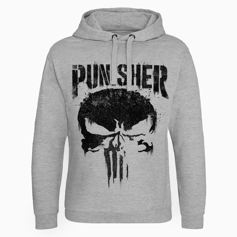 55d1087b83 Sweat capuche Marvel's The Punisher Big Skull | Achat de Sweat ...