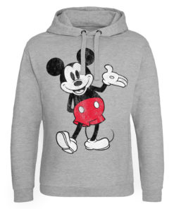 Sweat capuche Mickey Mouse de couleur Gris