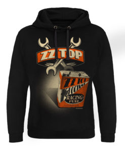 Sweat capuche ZZ-Top High Octane Racing Fuel de couleur Noir