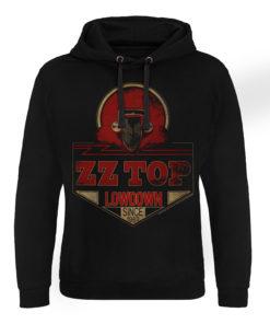 Sweat capuche ZZ-Top - Lowdown Since 1969 de couleur Noir