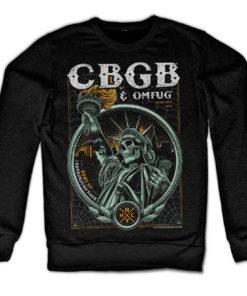 Sweat CBGB - Statue of Underground Rock de couleur Noir