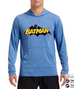 Sweat de sport Batman Retro Logo Performance anti-transpirant de couleur