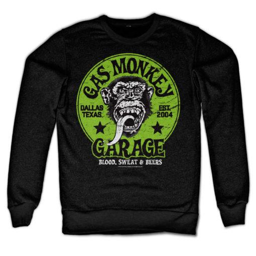 Sweat Gas Monkey Garage - Green Logo de couleur Noir