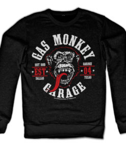Sweat Gas Monkey Garage Round Seal de couleur Noir