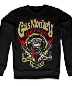 Sweat Gas Monkey Garage - Spark Plugs de couleur Noir