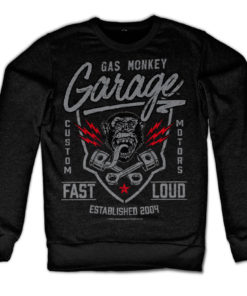 Sweat GMG - Fast'n Loud de couleur Noir