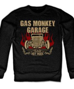 Sweat GMG - Speeding Monkey de couleur Noir