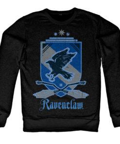 Sweat Harry Potter - Ravenclaw de couleur Noir