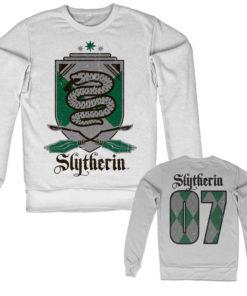 Sweat Harry Potter - Slytherin 07 de couleur Blanc