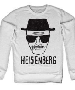 Sweat Heisenberg Sketch de couleur Blanc