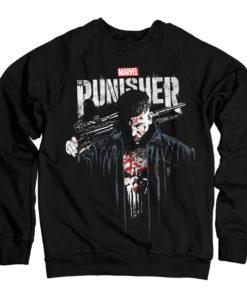 Sweat Marvel's The Punisher Blood de couleur Noir
