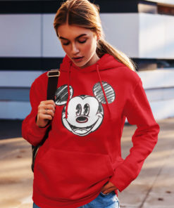 Sweat Mickey pour femme (rouge)