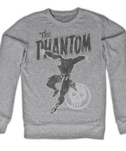 Sweat Phantom Jump de couleur Gris Chiné