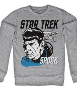 Sweat Star Trek & Spock de couleur Gris